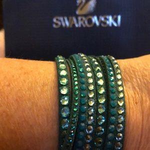 Swarovski Double Strand Slake Bracelet
